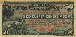 50 Centesimos URUGUAY  1896 P.002a SUP+