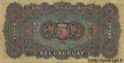5 Pesos URUGUAY  1896 P.004 TTB