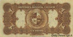 1 Peso URUGUAY  1927 P.009b TTB