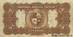 1 Peso URUGUAY  1934 P.009c TTB