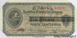 20 Centesimos URUGUAY  1918 P.014 TTB