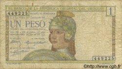 1 Peso URUGUAY  1930 P.017a B à TB