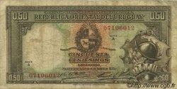 50 Centesimos URUGUAY  1935 P.027a pr.TB