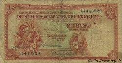 1 Peso URUGUAY  1935 P.028b B