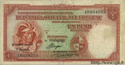 1 Peso URUGUAY  1935 P.028c TB+