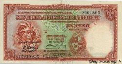 1 Peso URUGUAY  1935 P.028c SPL