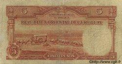 5 Pesos URUGUAY  1935 P.029a B