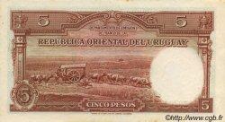 5 Pesos URUGUAY  1935 P.029b SPL