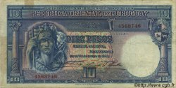 10 Pesos URUGUAY  1935 P.030a TB