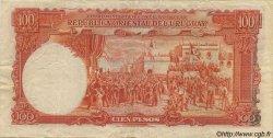 100 Pesos URUGUAY  1935 P.031a TTB+