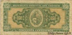 50 Centesimos URUGUAY  1939 P.034 TB