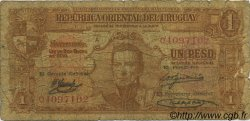 1 Peso URUGUAY  1939 P.035a AB