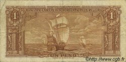 1 Peso URUGUAY  1939 P.035a pr.TTB