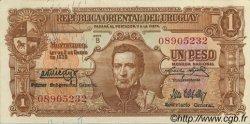 1 Peso URUGUAY  1939 P.035a SUP+
