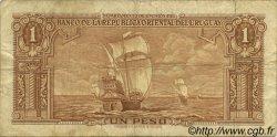 1 Peso URUGUAY  1939 P.035c TB