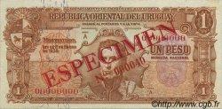 1 Peso URUGUAY  1939 P.035s SUP+