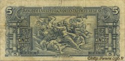 5 Pesos URUGUAY  1939 P.036b TB