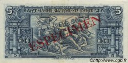 5 Pesos URUGUAY  1939 P.036s SPL