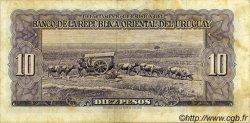 10 Pesos URUGUAY  1939 P.037d pr.TTB