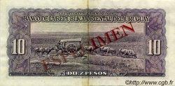 10 Pesos URUGUAY  1939 P.037s TTB