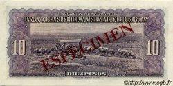 10 Pesos URUGUAY  1939 P.037s NEUF