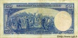 50 Pesos URUGUAY  1939 P.038b TTB
