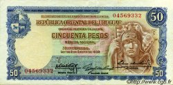 50 Pesos URUGUAY  1939 P.038b SUP