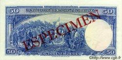 50 Pesos URUGUAY  1939 P.038s NEUF