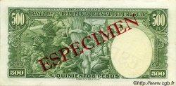 500 Pesos URUGUAY  1939 P.040s SPL+