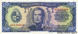 50 Pesos URUGUAY  1967 P.046a SPL+