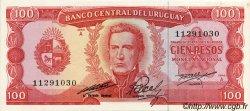 100 Pesos URUGUAY  1967 P.047a SPL