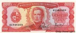 100 Pesos URUGUAY  1967 P.047a