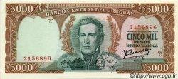 5000 Pesos URUGUAY  1967 P.050b pr.NEUF