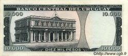 10000 Pesos URUGUAY  1967 P.051c SPL