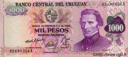 1000 Pesos URUGUAY  1974 P.052 SPL