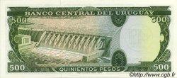 0,5 Nuevo Pesos sur 500 Pesos URUGUAY  1975 P.054 NEUF