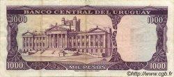 1 Nuevo Pesos sur 1000 Pesos URUGUAY  1975 P.055 TTB+