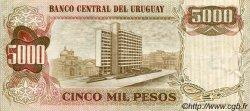5 Nuevos Pesos sur 5000 Pesos URUGUAY  1975 P.057 SUP