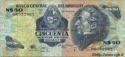 50 Nuevos Pesos URUGUAY  1988 P.061A pr.TB