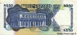 50 Nuevos Pesos URUGUAY  1988 P.061A SUP