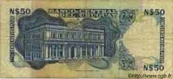 50 Nuevos Pesos URUGUAY  1981 P.061c B+