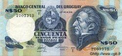 50 Nuevos Pesos URUGUAY  1987 P.061d SUP
