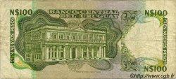 100 Nuevos Pesos URUGUAY  1987 P.062A TB