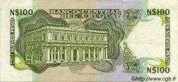 100 Nuevos Pesos URUGUAY  1987 P.062A TTB