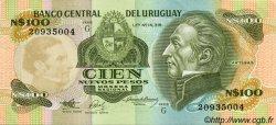 100 Nuevos Pesos URUGUAY  1987 P.062A SPL