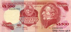 500 Nuevos Pesos URUGUAY  1985 P.063b SUP+