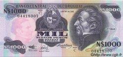 1000 Nuevos Pesos URUGUAY  1991 P.064Aa pr.NEUF