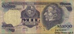 1000 Nuevos Pesos URUGUAY  1981 P.064b B+