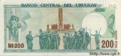 200 Nuevos Pesos URUGUAY  1986 P.066 SPL