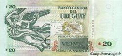 20 Pesos Uruguayos URUGUAY  2000 P.083a NEUF